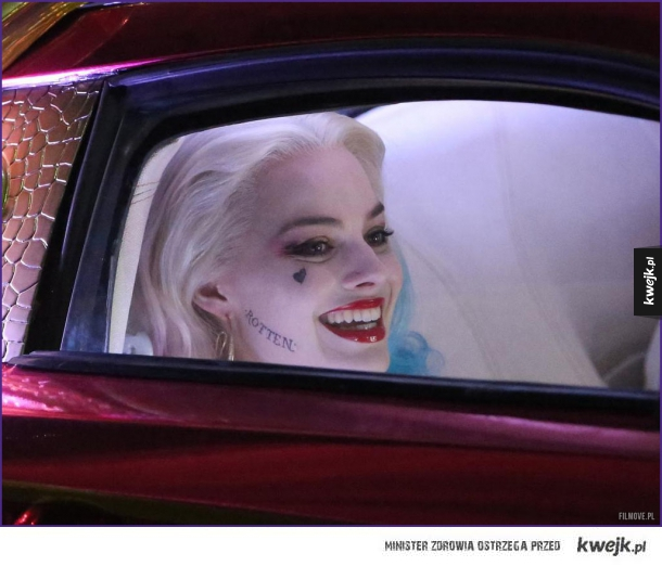 Harley Quinn Na Planie Suicide Squad Ministerstwo