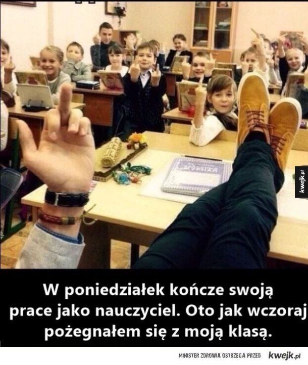 Pożegnanie z klasą