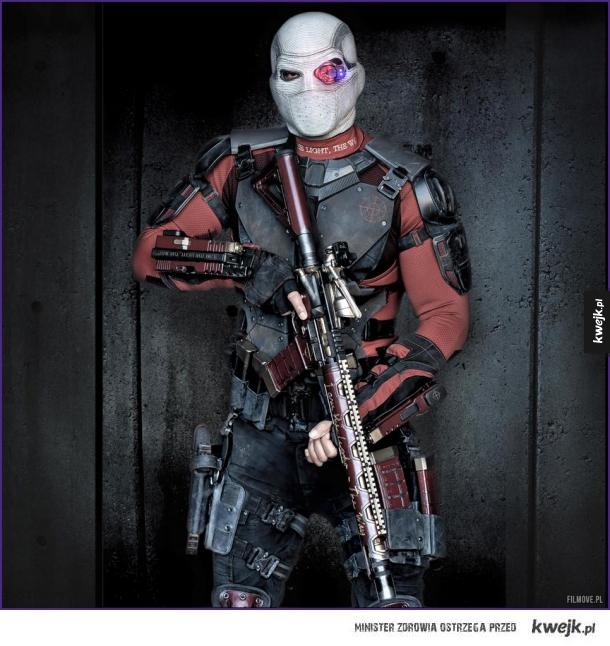 Najnowsze zdjęcie Deadshota z Suicide Squad