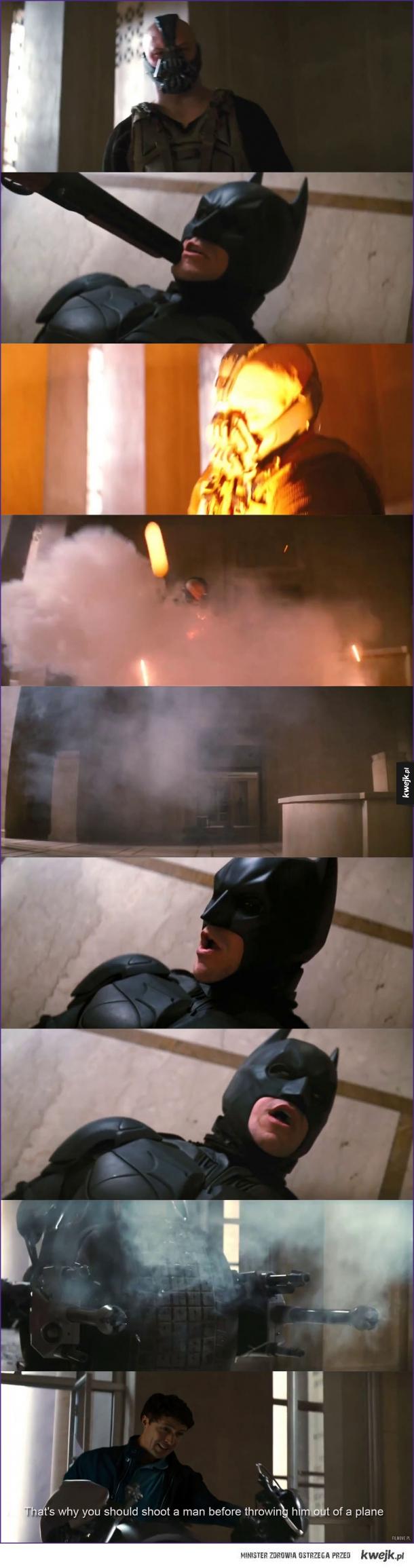 The Dark Knight Rises - alternatywne zakończenie