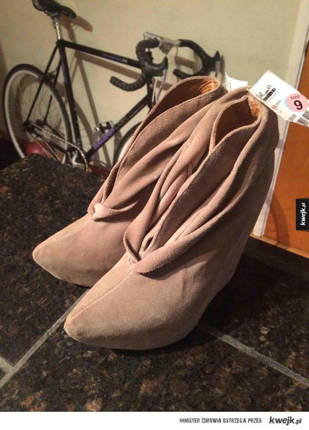 Dwuznaczne buty