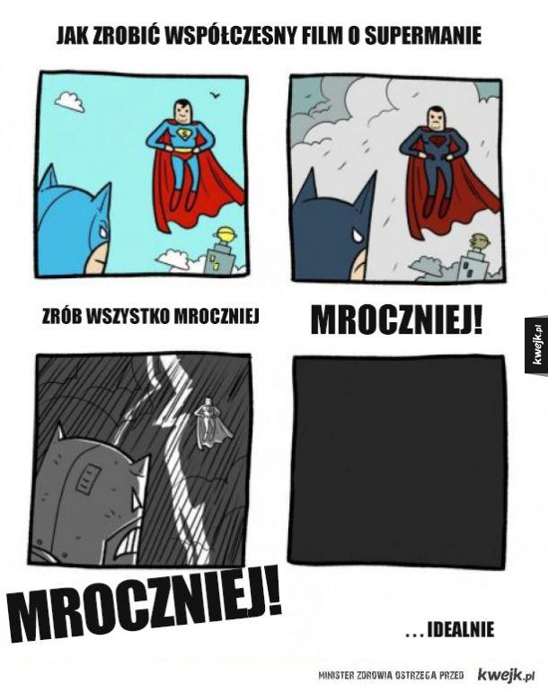 Jak zrobić współczesny film o Supermanie