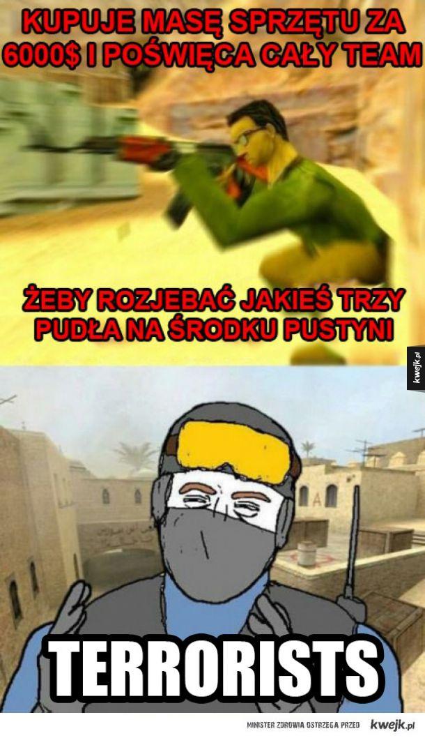 Typowi terroryści