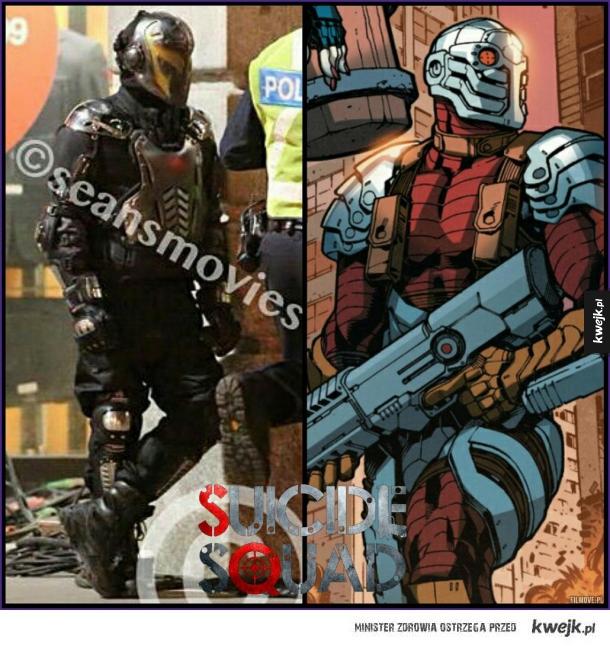 Pierwsze zdjęcie Deadshota z Suicide Squad