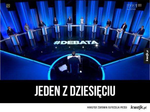 Odpowiedź Internetu na debatę prezydencką