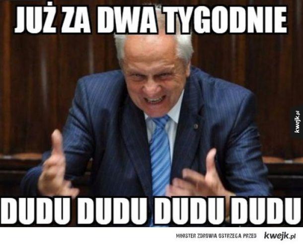Reakcja internautów po I turze wyborów prezydenckich - Już za dwa tygodnie dudu dudu dudu dudu