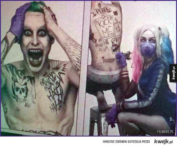 Teraz te tatuaże i wyraz twarzy mają sens!