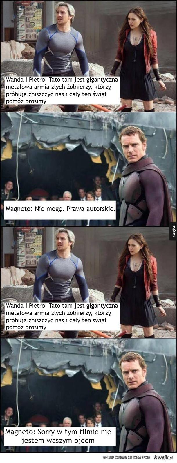 Problemy rodzinne w Avengersach