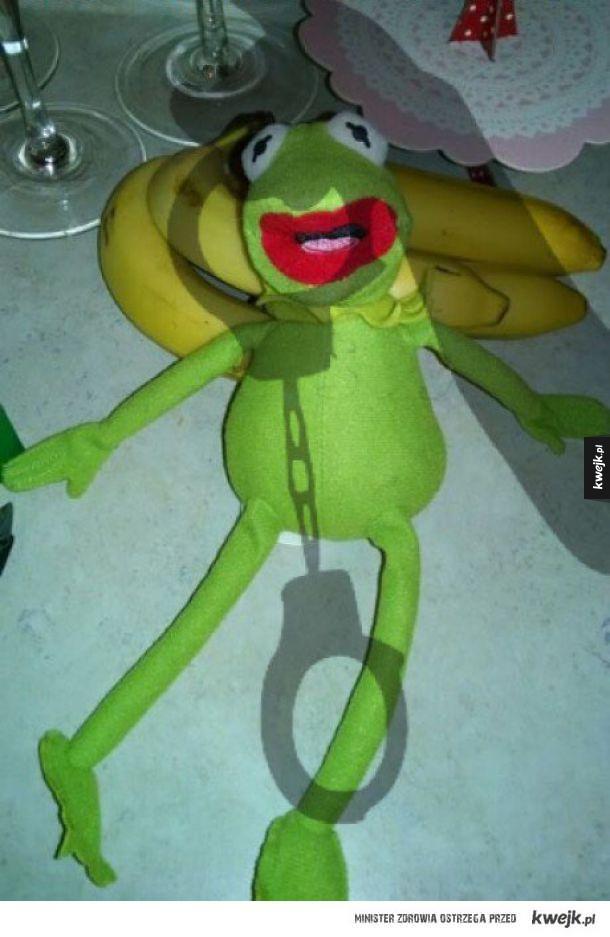 Kermit ma przypał