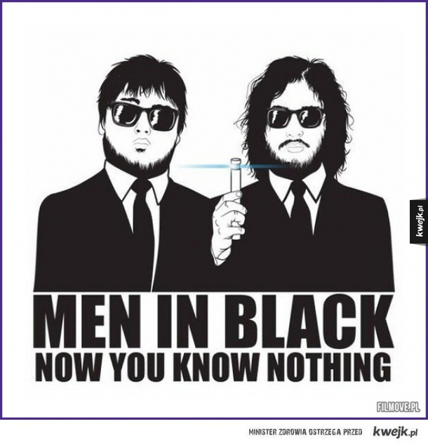 Now you know nothing