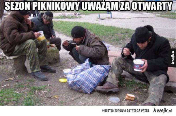 Sezon piknikowy