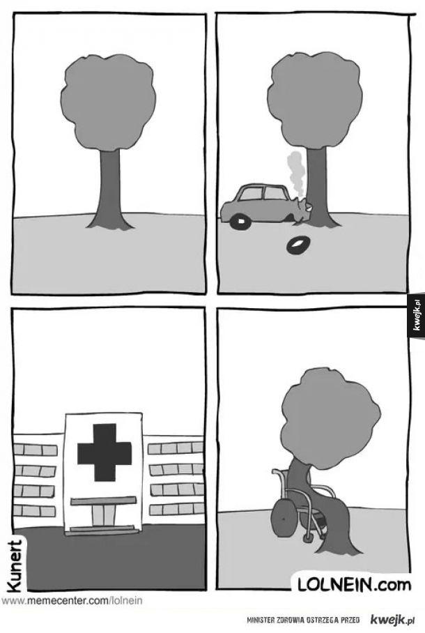 Biedne drzewko