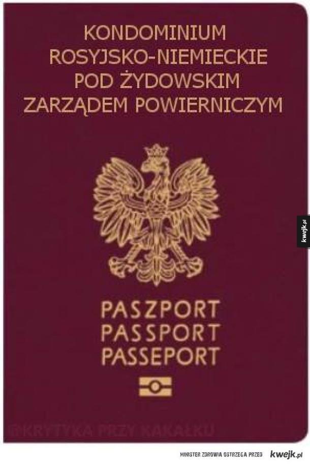 Mój paszport