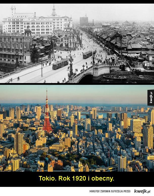 Jak na przestrzeni lat zmieniły się słynne miasta