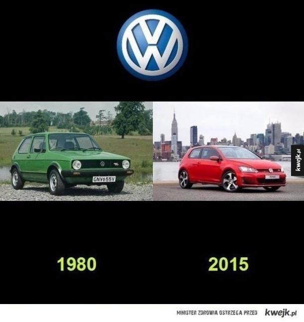 Samochody kiedyś i dzisiaj