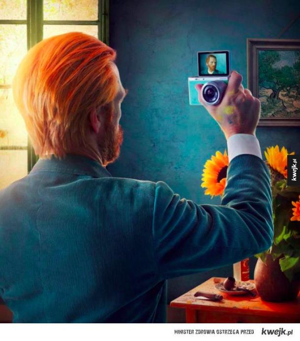 Selfie lvl Van Gogh