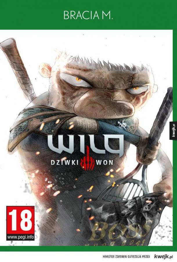 Wiedźmin III wg Wilq