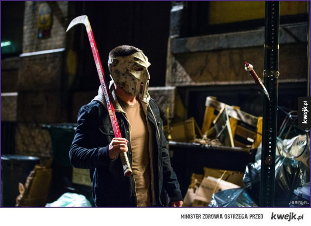 Casey Jones z Teenage Mutant Ninja Turtles 2