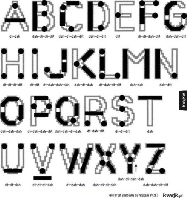 Jak ogarnąć alfabet morse'a