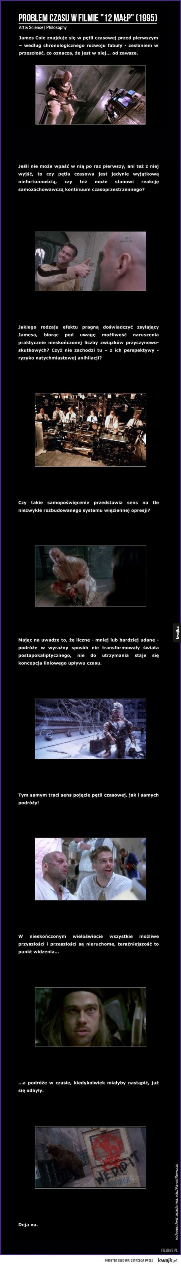 Problem czasu w filmie 12 Małp