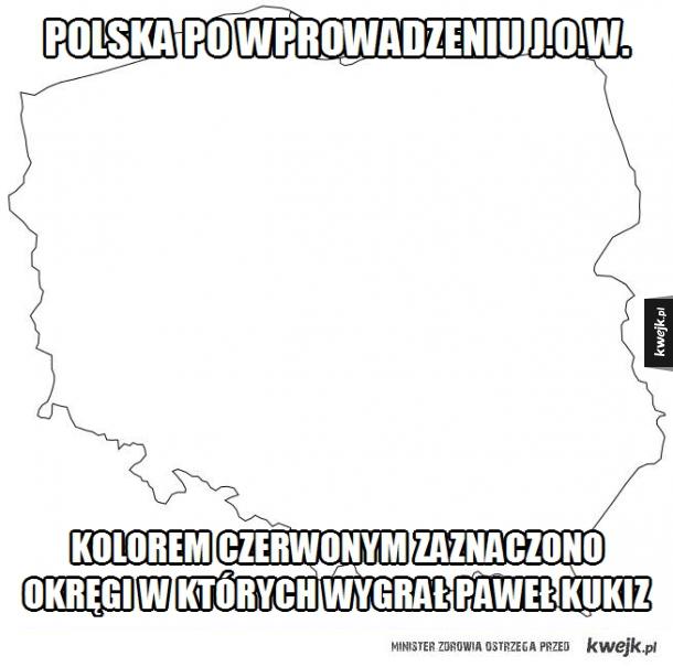 Polska po wprowadzeniu JOWów