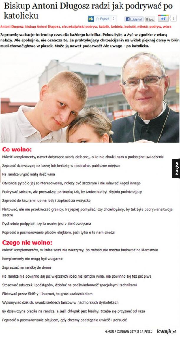 Podryw na katolika