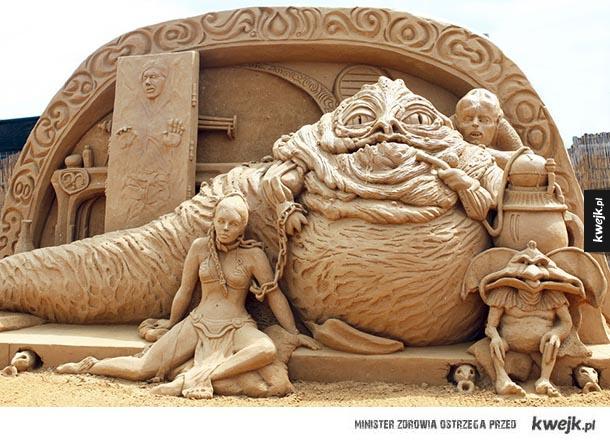 Inspirujące figury piaskowe - Inspirujące figury piaskowe