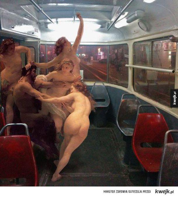 Tymczasem w tramwaju