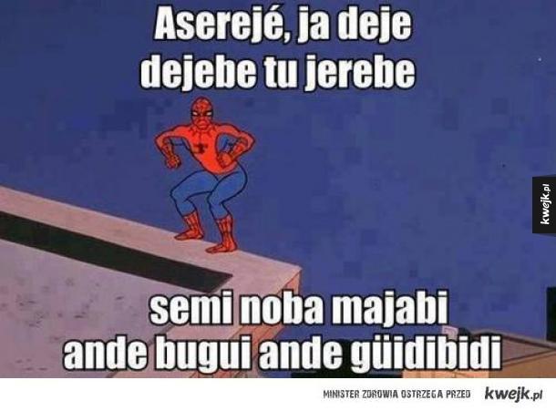 Spiderman Asereje