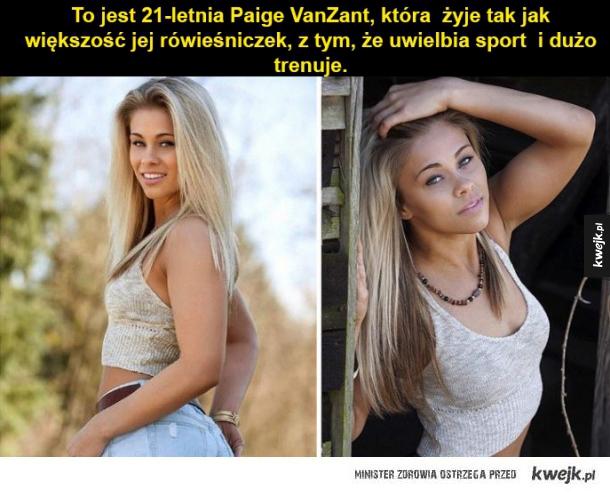 """""""Paige VanZant - piękna i młoda zawodniczka MMa"""""""