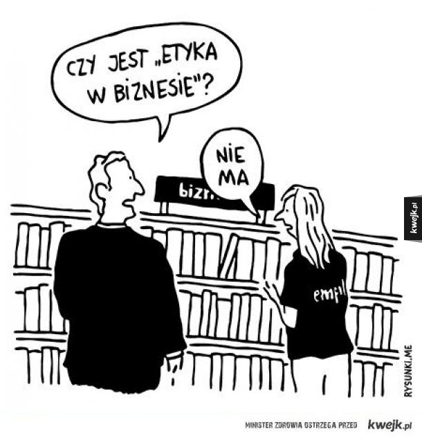 Etyka w biznesie...