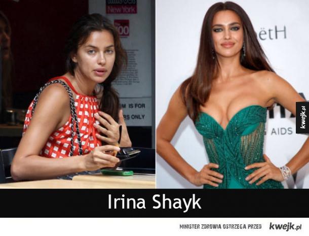 Gdyby nie makijaż, nie powiedziałbyś, że są supermodelkami...