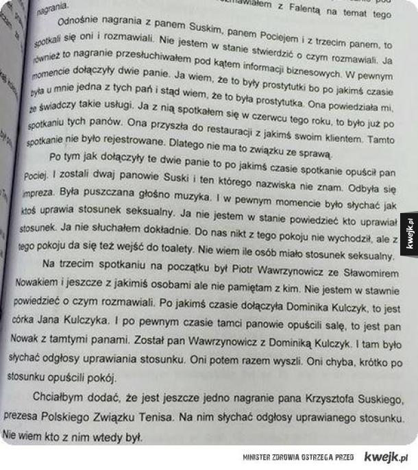 Tymczasem Dominika Kulczyk...