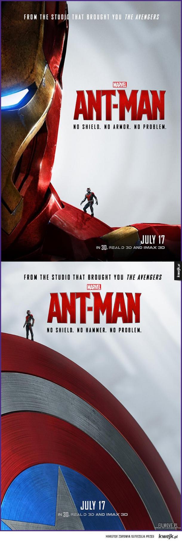 Dobre plakaty Ant-Mana