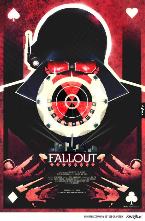 Alternatywny plakat Fallouta New Vegas