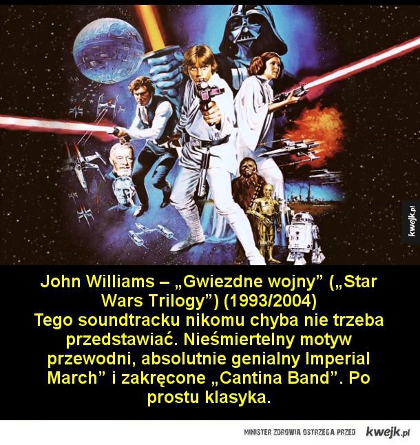 10 soundtracków, które każdy miłośnik kina powinien znać - Bee Gees – Gorączka sobotniej nocy (1977) Johna Travoltę ubranego w biały garnitur i tańczącego do utworów Bee Gees znają wszyscy, nawet ci, którzy filmu nigdy nie widzieli. To symbol dyskotek lat siedemdziesiątych. Utwory braci Gibb przetrwały próbę czasu