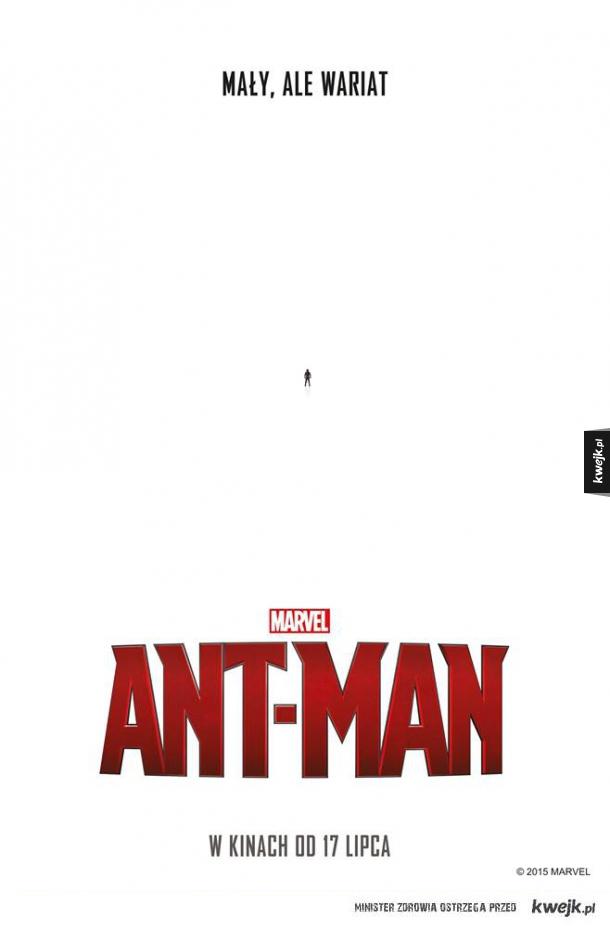 Taki tam plakat Ant-Mana