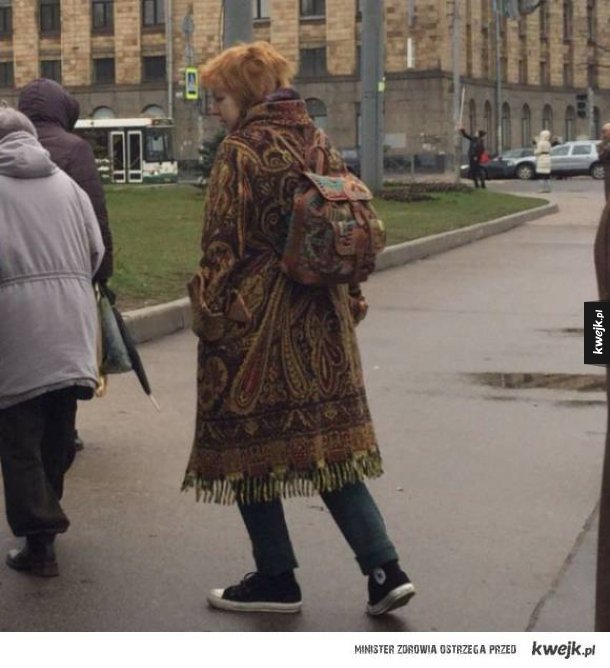 Styl rosyjskich ulic...