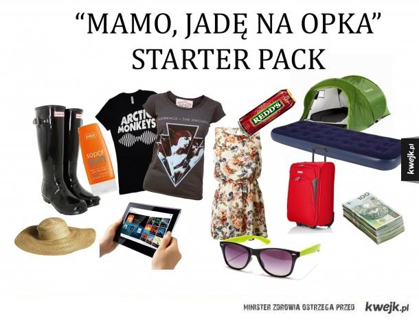 Opener starter pack
