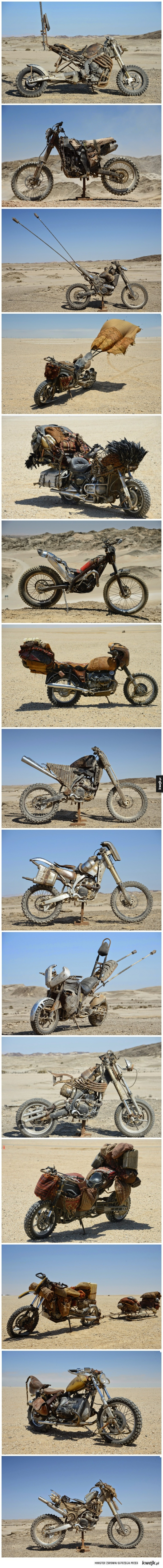 Motory z Mad Max 4