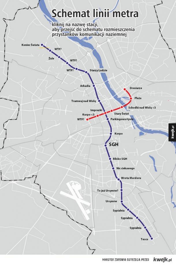 Warszawskie metro w pigułce