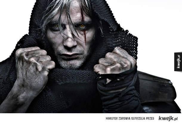A gdyby tak Mads Mikkelsen zagrał Wiedźmina...
