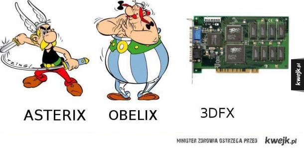 Asterix, Obelix i 3dfx