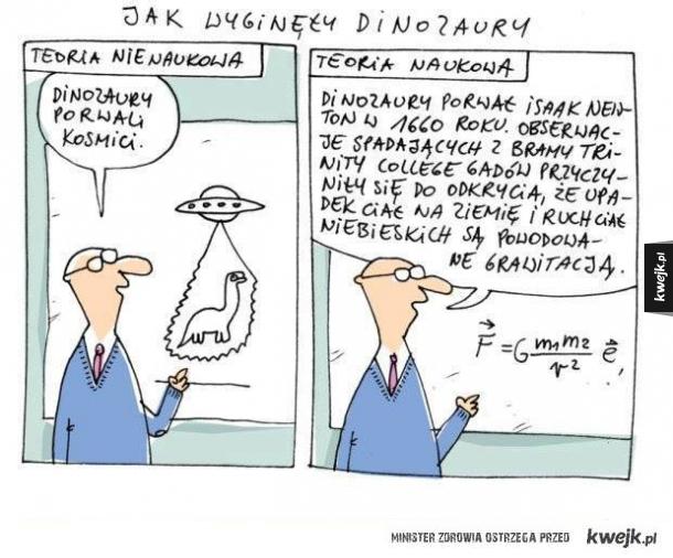 Jak wyginęły Dinozaury...