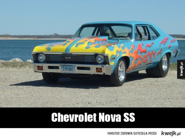 Samochody, które topią asfalt