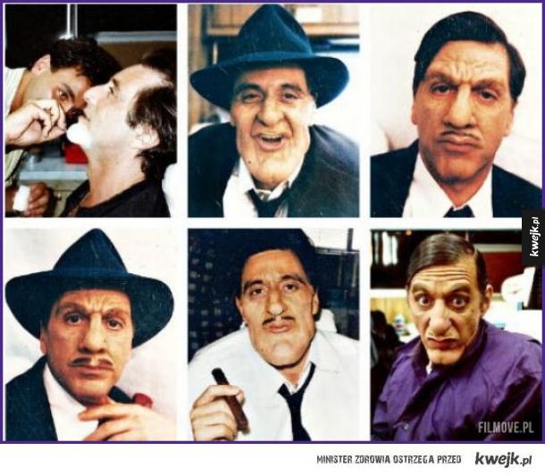 Al Pacino testuje różne charakteryzacje do filmu Dick Tracy