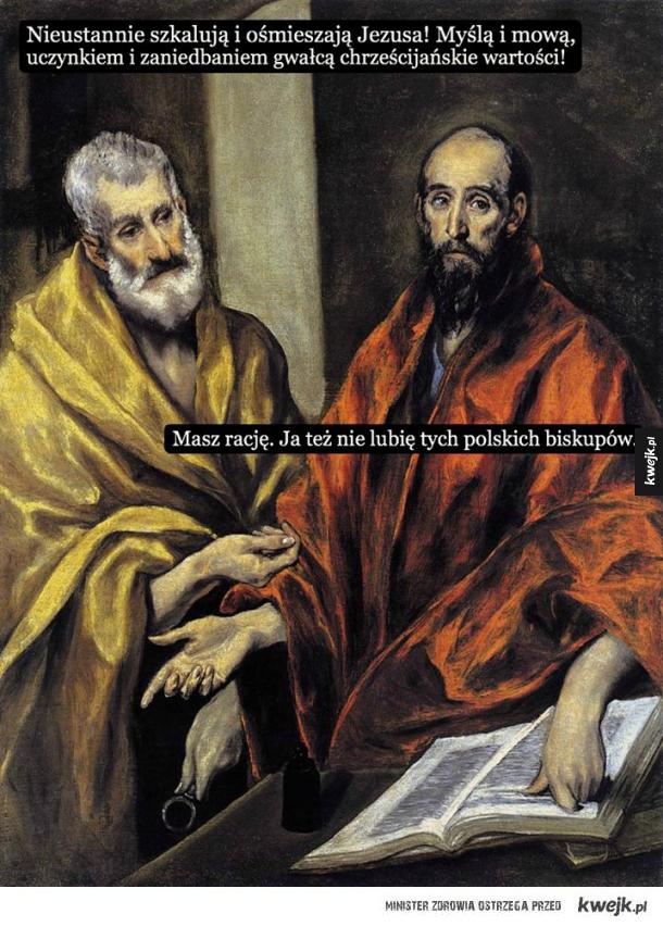 Polscy biskupi...