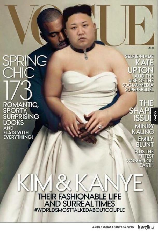 Najpiękniejsza para Kim & Kanye