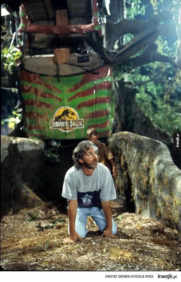 Zdjęcia z planu Jurassic Park