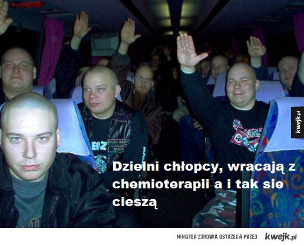 Młodzież po chemii